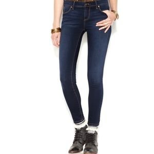 FREE PEOPLE FADED SKINNY FIT JEANS